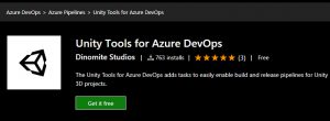 Unity Tools for Azure DevOps (Visual Studio Marketplace)